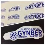 AutoServis Gynber Etiketa