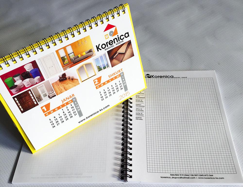 Korenica Kalendar Fletore