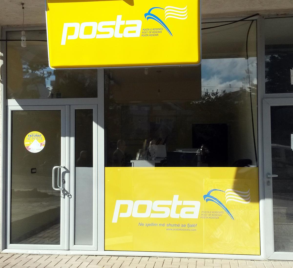 Posta e Kosoves Oneway Vision