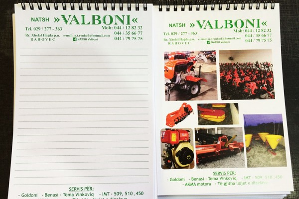 Valboni Fletore A5